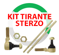 Kit tiranti sterzo per Quad Atv