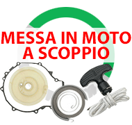 Messa in moto a strappo per Quad Atv