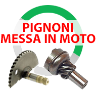 Pignoni messa in moto per Quad Atv