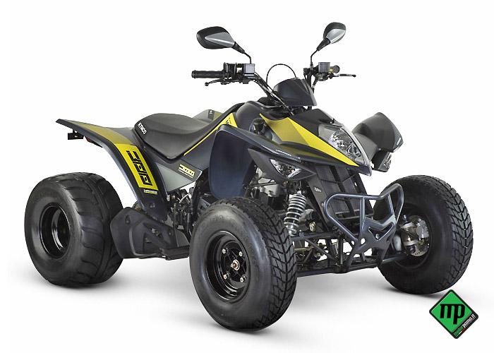quad kymco maxxer 300 onroad - nuovo in vendita