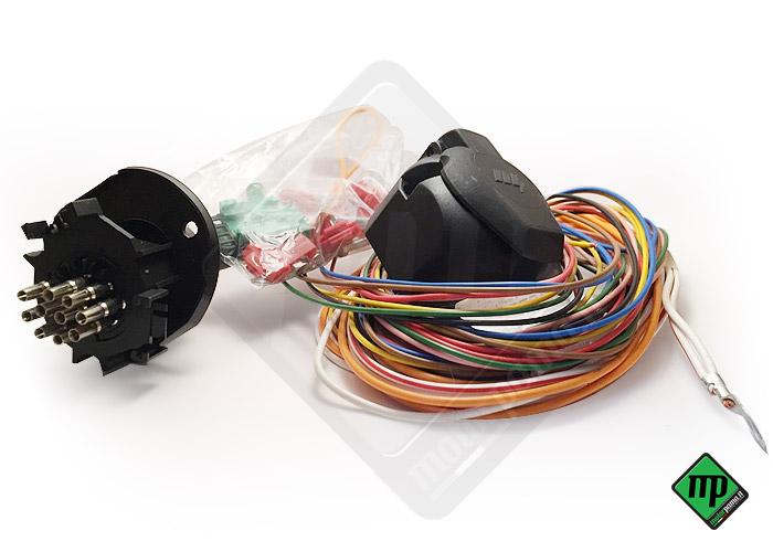 Schema Cablaggio Presa Rimorchio : Kit cablaggio elettrico poli universale per carrello