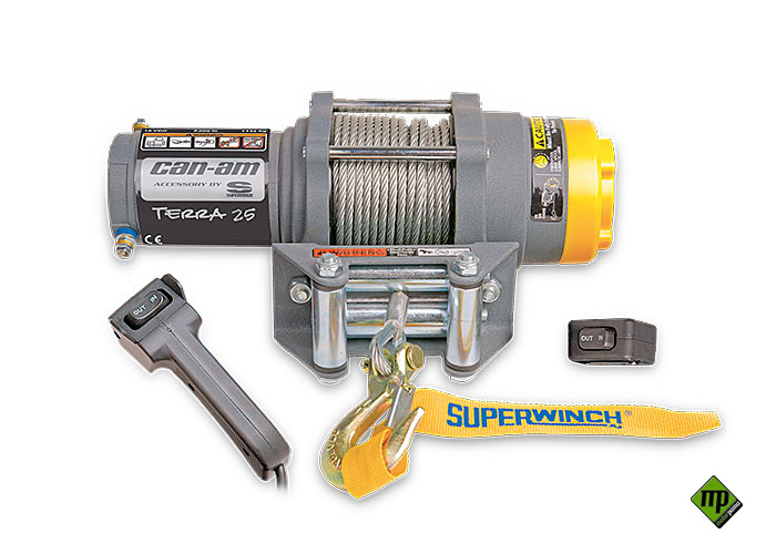 Verricello can-am terra 25 di Superwinch