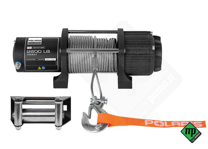 Verricello Polaris winch 2500 lb